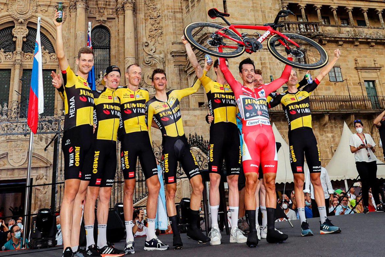Roglic wins Vuelta a España for third consecutive year