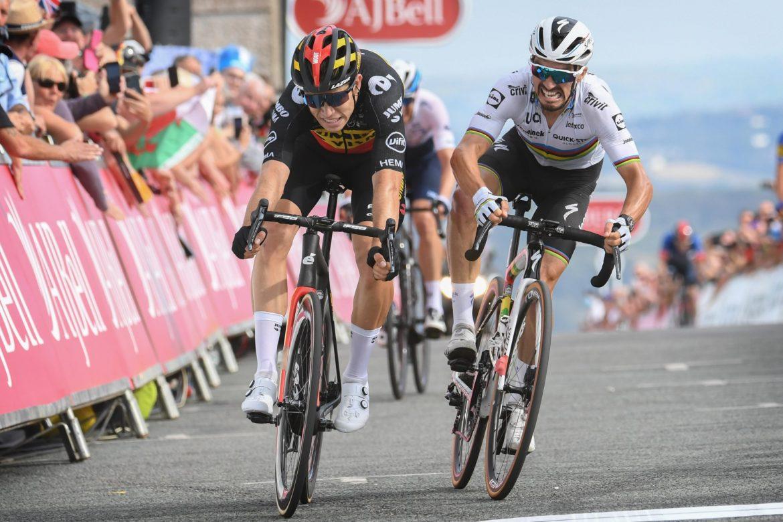 Van Aert wins Tour of Britain queen stage in prestigious duel