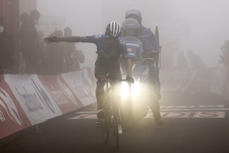 Miguel Ángel López wins La Vuelta's Queen stage