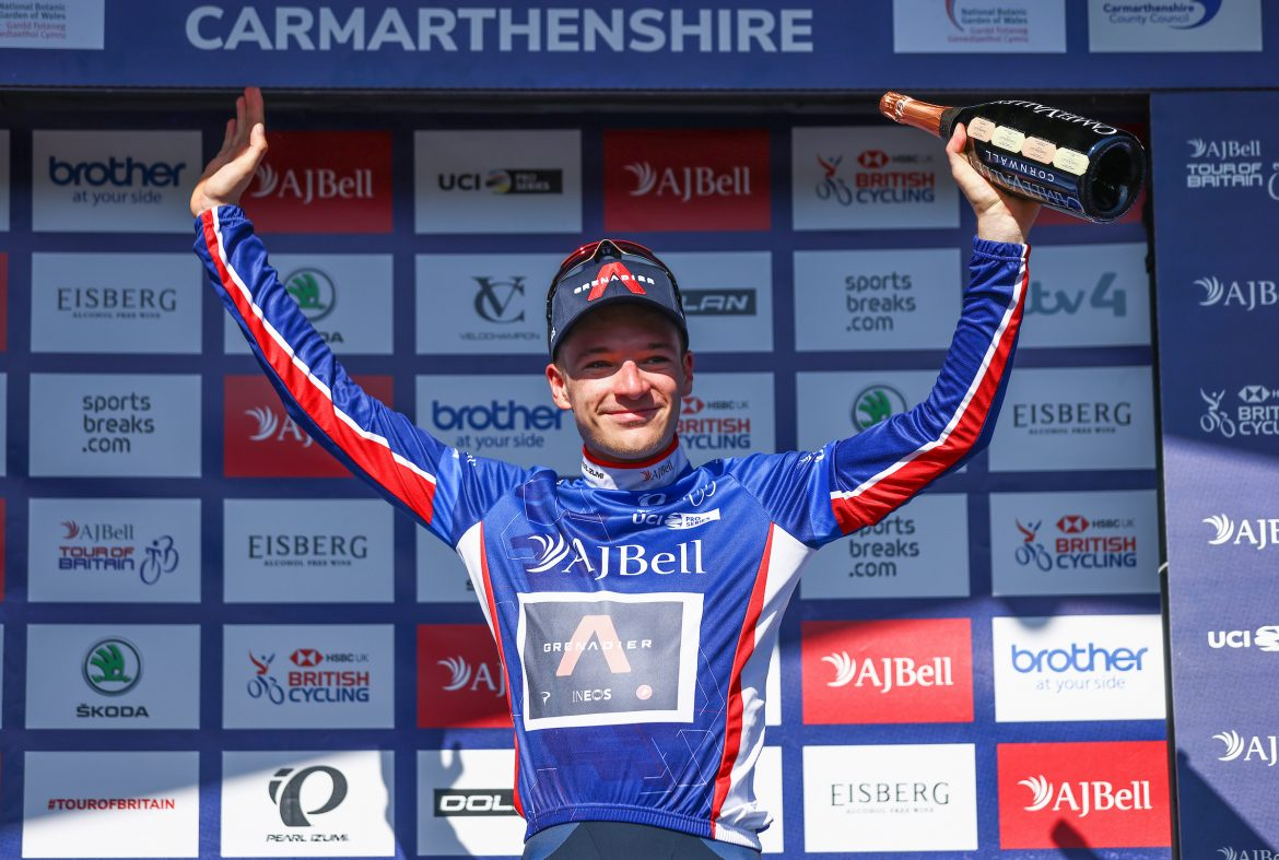 INEOS Grenadiers win the AJ Bell Tour of Britain team time trial in Carmarthenshire