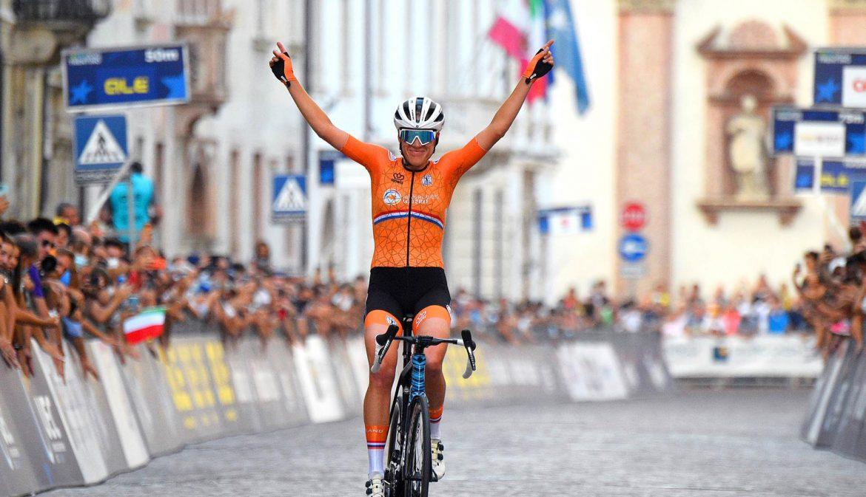 Ellen Van Dijk is the new European Champion