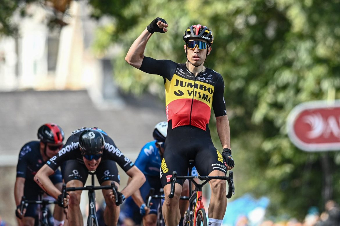 Van Aert sprints to victory in first stage of Tour of Britain