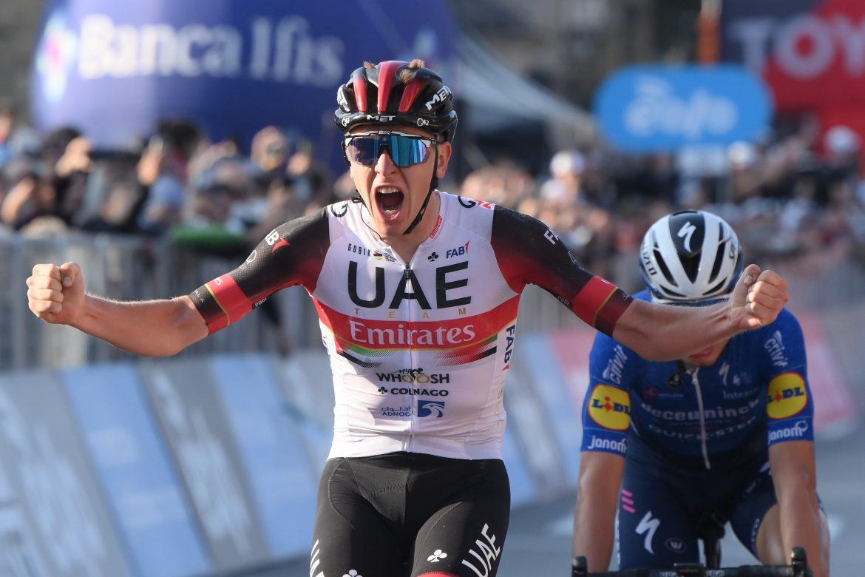 Tadej Pogačar wins the 115th Il Lombardia